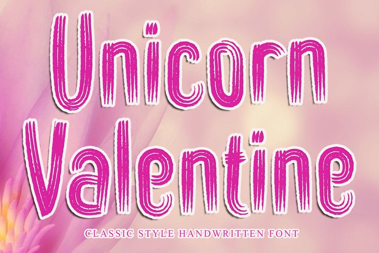 Unicorn Valentine example image 1