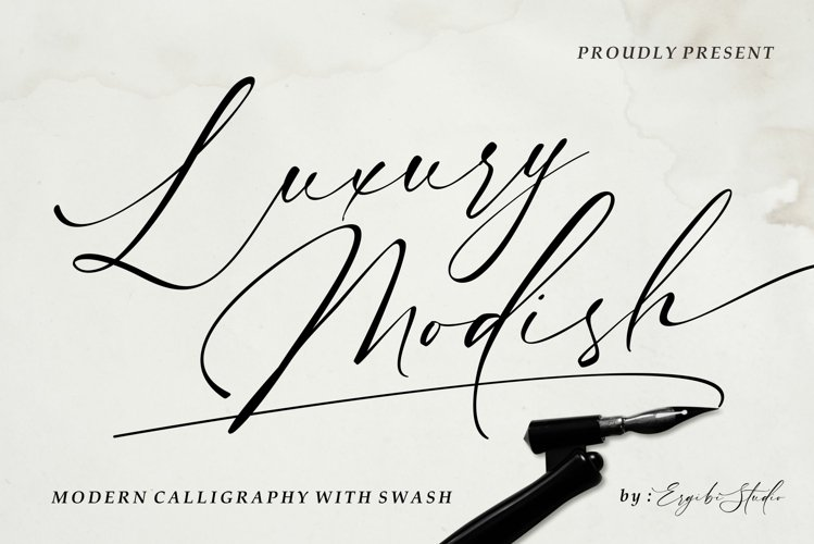 Luxury Modish - Modern Calligraphy example image 1