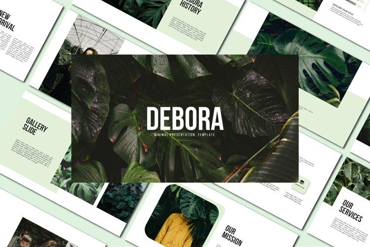 Debora - Powerpoint Template