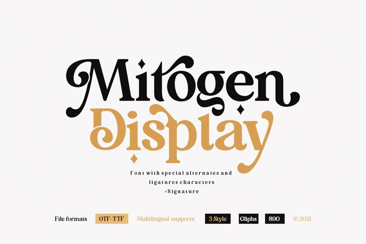 Mitogen Display example image 1