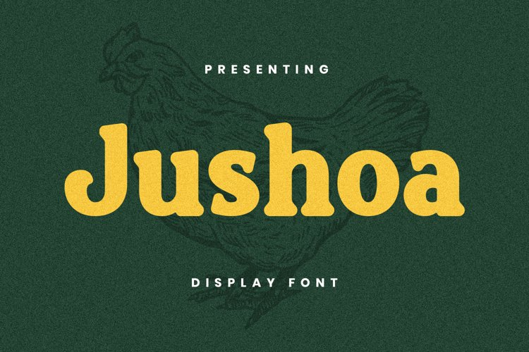 Jushoa Font example image 1