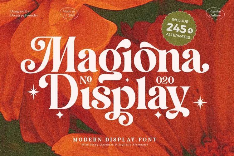 Magiona Display example image 1