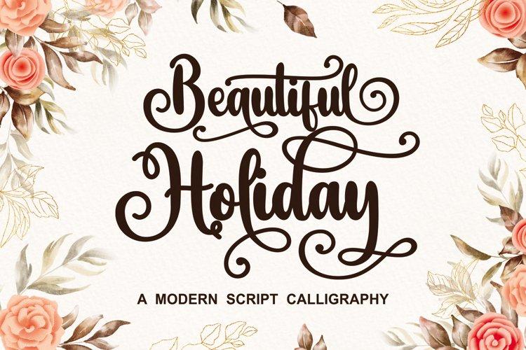 Beautiful Holiday example image 1