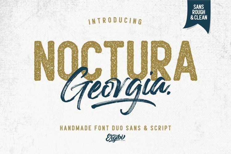 Noctura Georgia - Font Duo example image 1