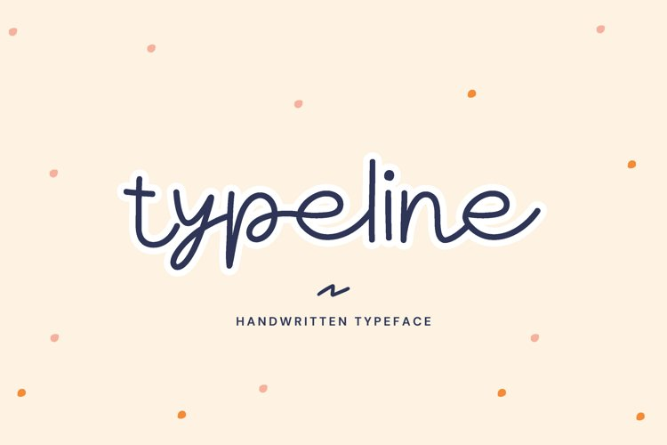 Typeline - Playful Font example image 1