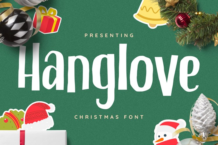 Hanglove Font example image 1
