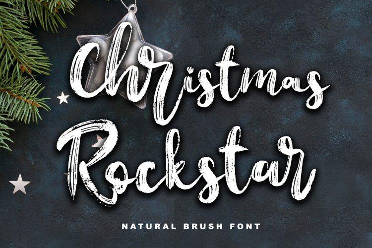 Christmas Rockstar example image 1