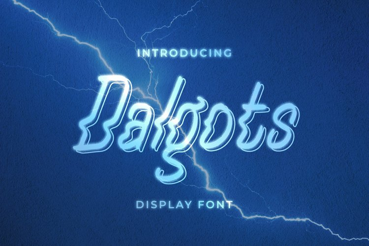Dalgots Font example image 1