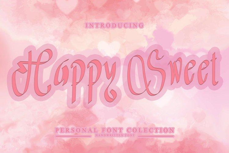 Happy Sweet example image 1