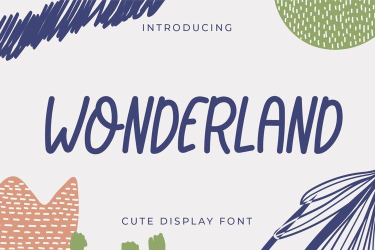 Wonderland example image 1