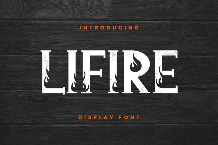 Lifire Font example image 1