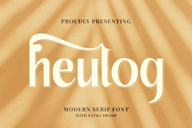 Heulog Font example image 1