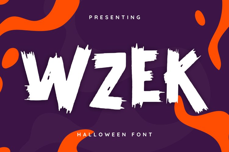 Wzek Font example image 1