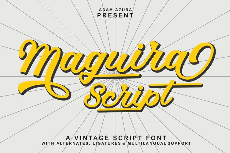 Maguira Script example image 1