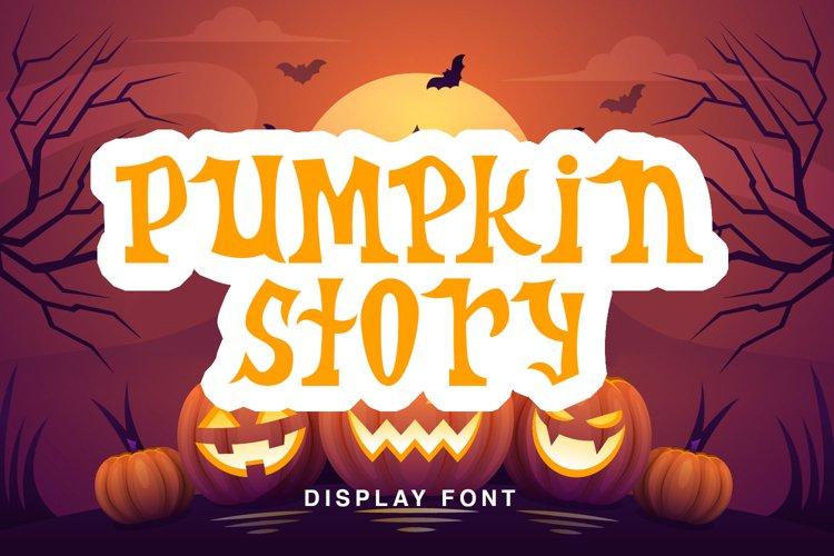 Pumpkin Story example image 1