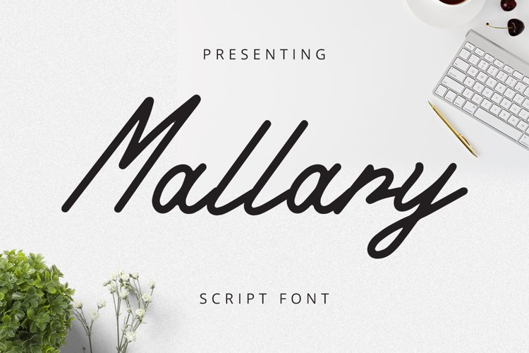 Mallary Font example image 1