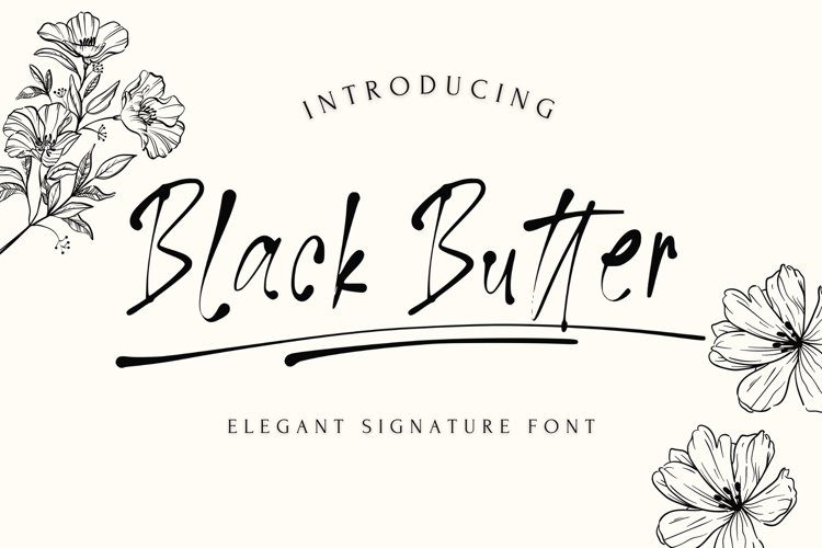 Black Butter example image 1