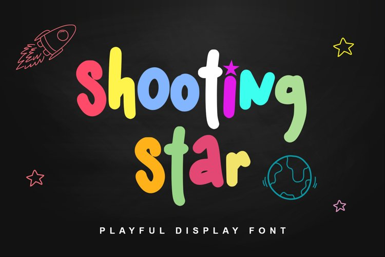 Shooting star example image 1