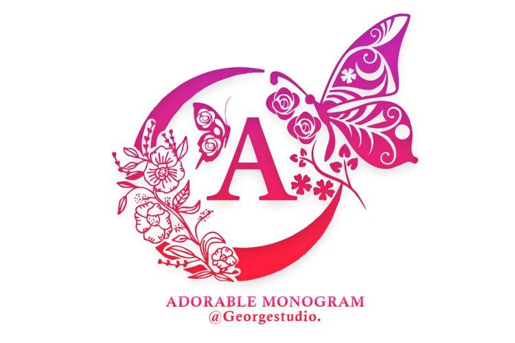 Adorable Monogram example image 1