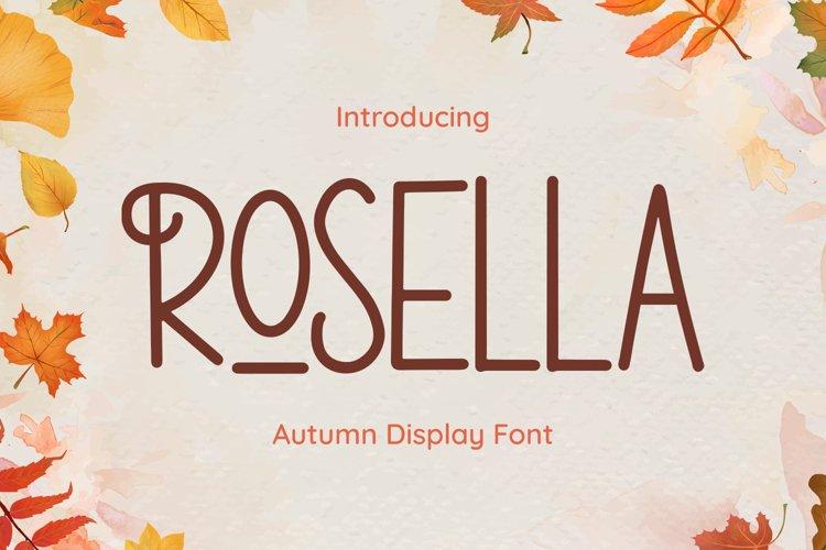 Rosella Font example image 1