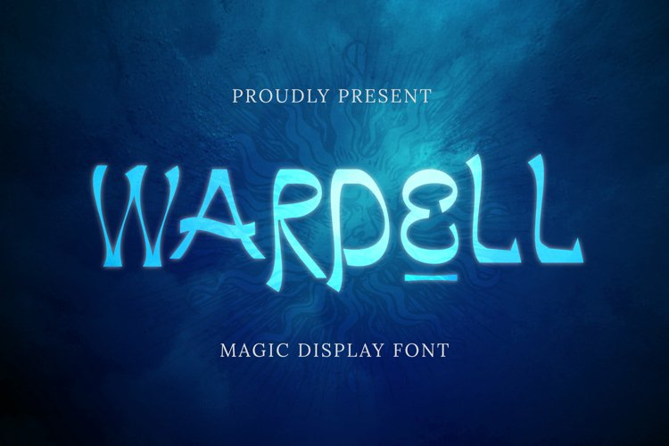 Wardell Font example image 1