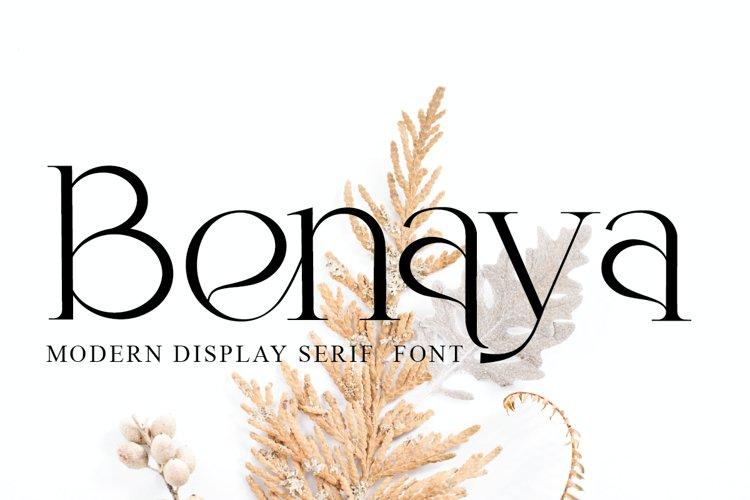 Benaya example image 1