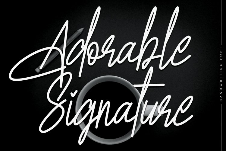 Adorable Signature example image 1
