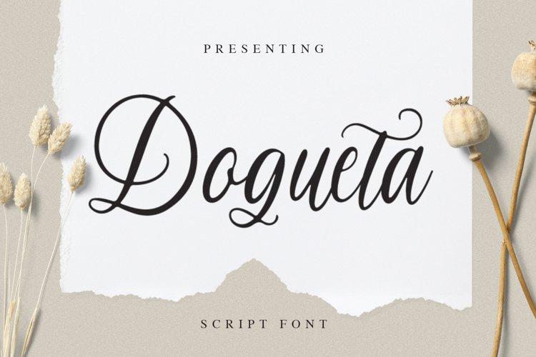 Dogueta Font example image 1