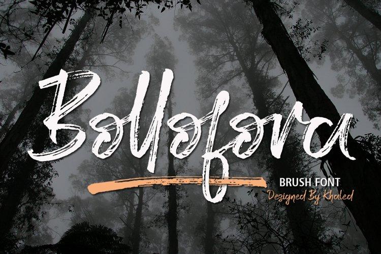 Bollofora - Brush Font example image 1