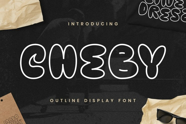 Cheby Font example image 1