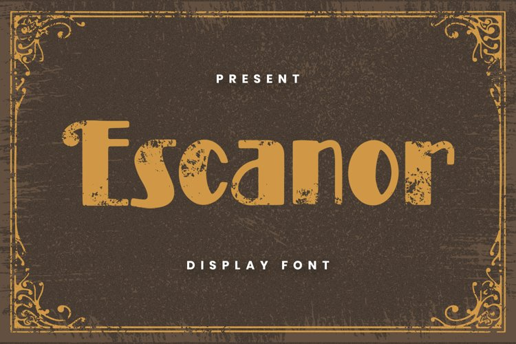Escanor Font example image 1