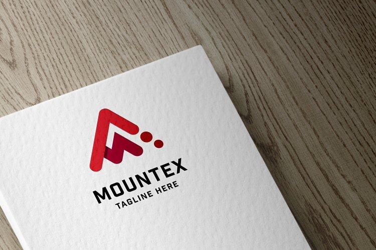 Mountex Letter M Logo