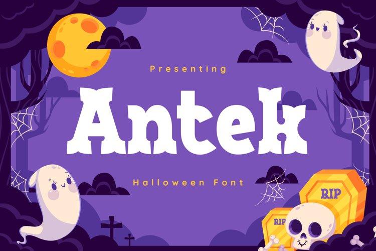Antek Font example image 1