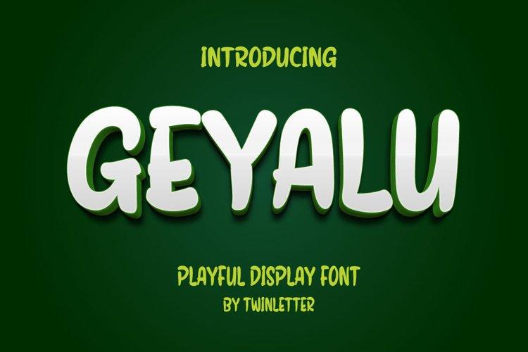 Geyalu example image 1
