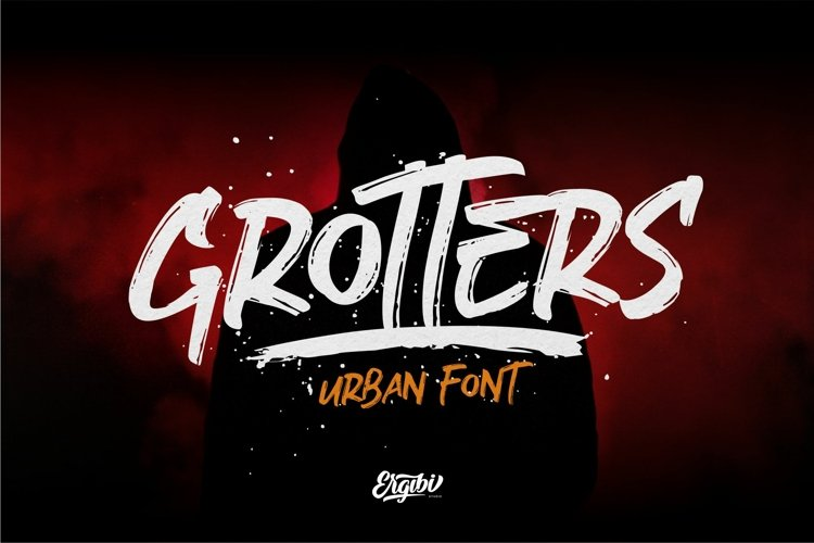 Grotters - Urban Font example image 1