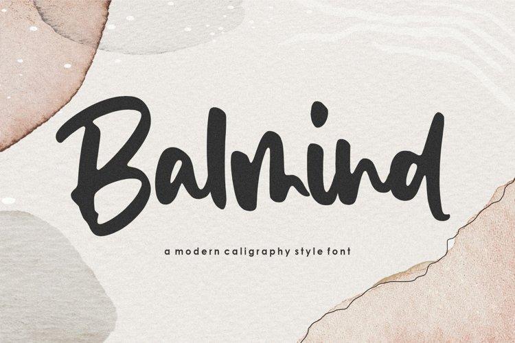 Balmind Handwritten Font example image 1