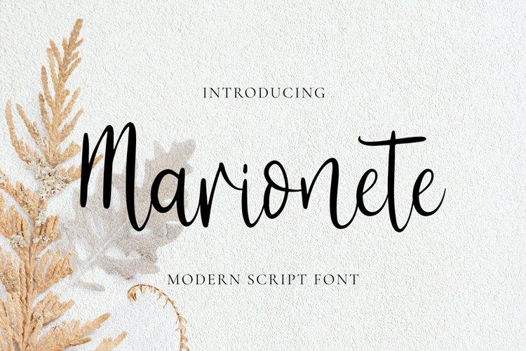 Marionete Font