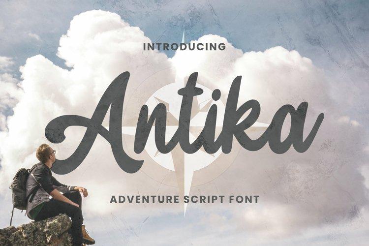 Antika Font example image 1