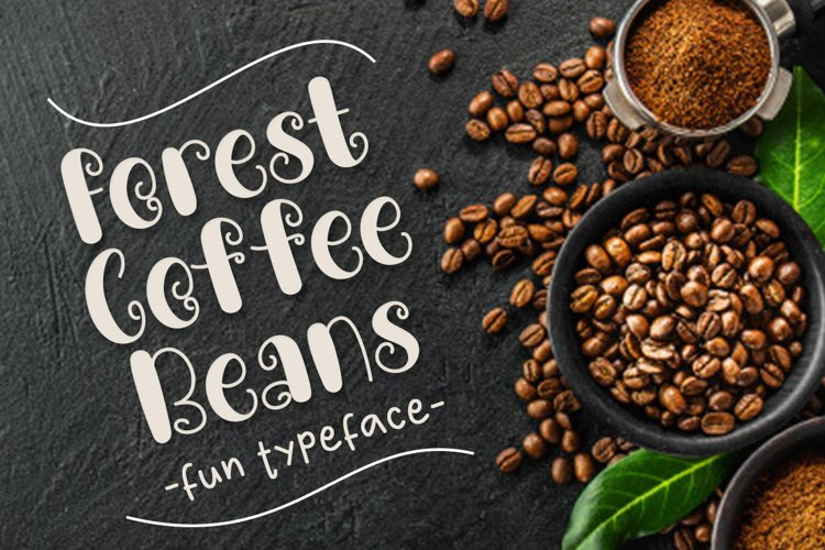 Forest Coffee Beans example image 1