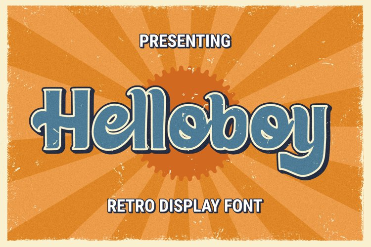 Helloboy Font example image 1