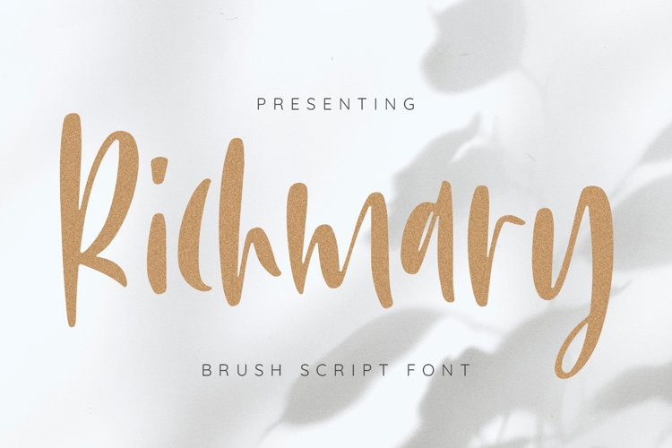 Richmary Font example image 1