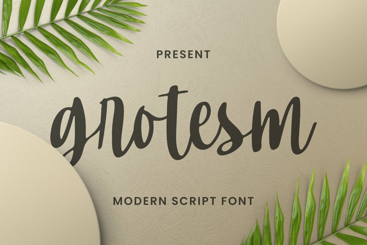 Grotesm Font example image 1