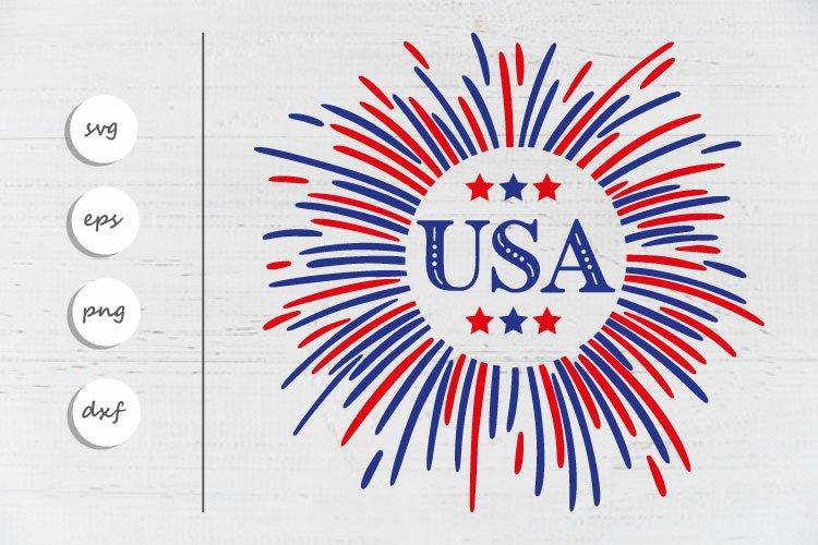 USA Svg | 4th of July SVG | Independence Day Svg