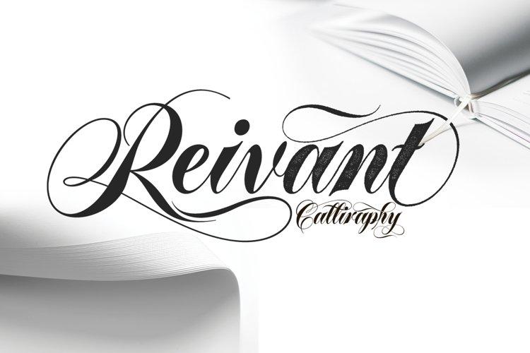 ReivantFontDuo example image 1