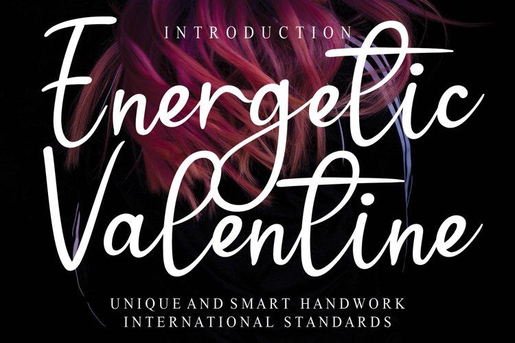 Energetic Valentine example image 1