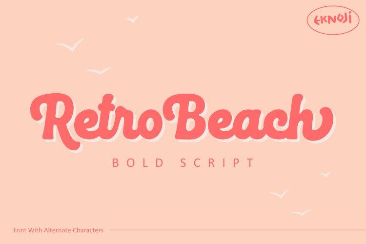 Retro Beach example image 1