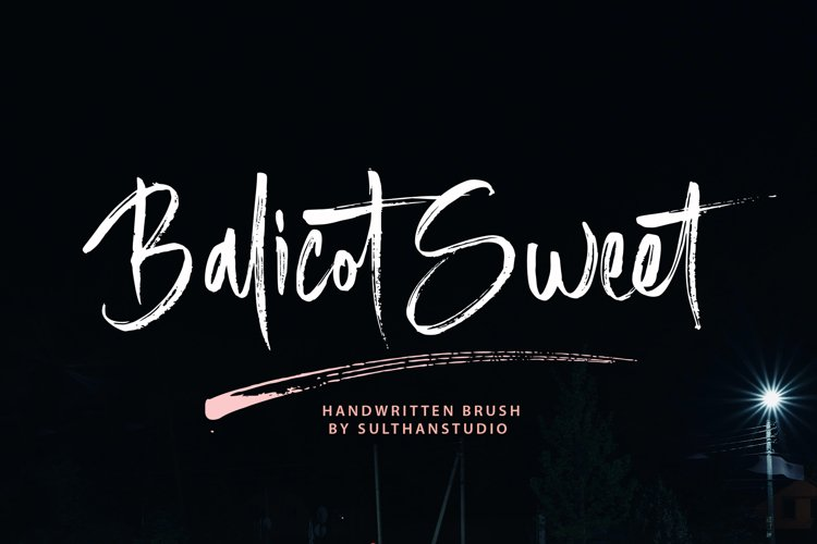 Balicot Sweet example image 1