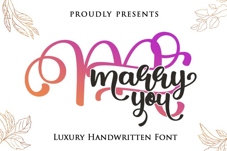 Marry You example image 1