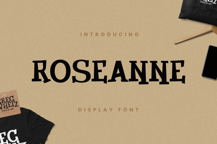 Roseanne Font example image 1