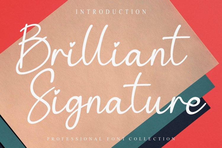 Brilliant Signature example image 1
